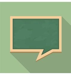 Blackboard icon vector