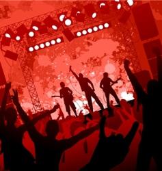 Concert background vector