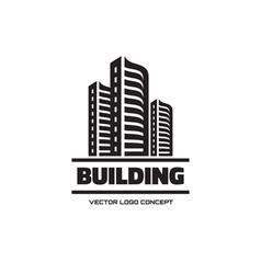 Building - logo concept vector