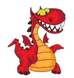 Great dragon vector