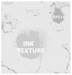 Ink and crack texture background vector