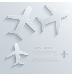 Airplane icon background eps10 vector
