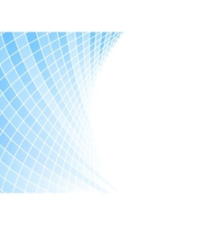 Blue halftone business card - tiles vector