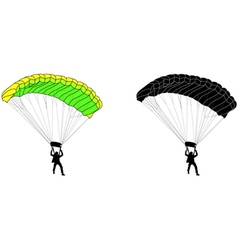 Skydiver vector
