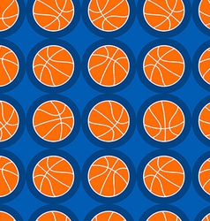 Basketball sports seamless pattern vector