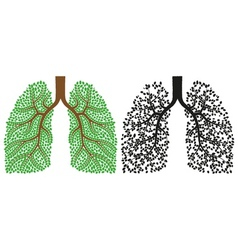 Lungs vector