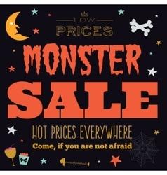 Bright halloween hot sale card vector