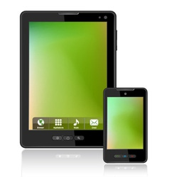Tablet computer vector