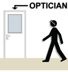 Optician vector