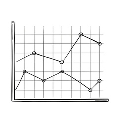 Sketch of the line chart vector