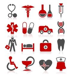 Medical a symbol vector