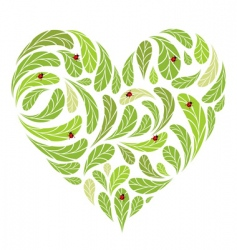 Love nature vector
