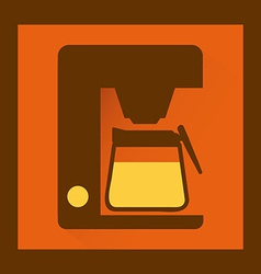 Kitchen icon vector