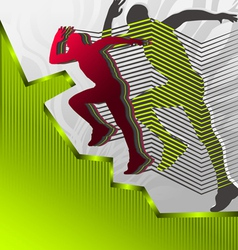 Abstract sports vector