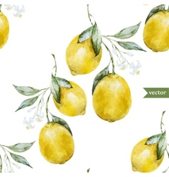 Lemon pattern3 vector