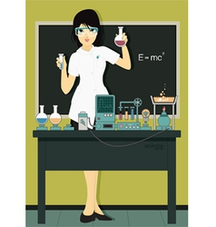 Scientists vector