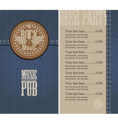 Music pub vector