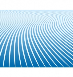 Blue curves vector