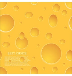 Seamless cheese background eps10 vector