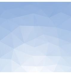 Light blue polygonal background vector
