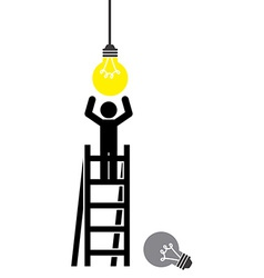 Bulb light vector