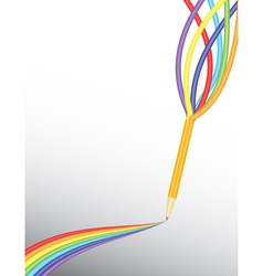 Bring colors in your life vector
