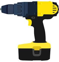 Drill driver vector