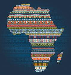 Ethnic african elements vector