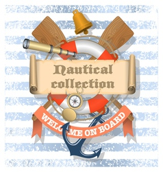 Nautical collection 1 xs vector
