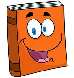 Text book cartoon mascot character vector