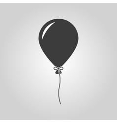 The balloon icon holiday symbol flat vector