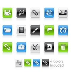 Interface clean series vector