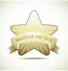 Award star vector