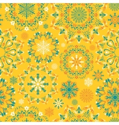 Yellow snow pattern vector