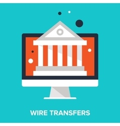Wire transfers vector