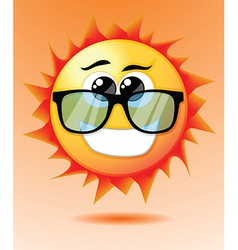 Sun cartoon vector