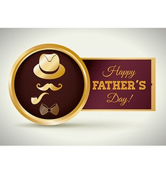 Happy fathers day design vector