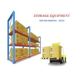 Storage equipment vector