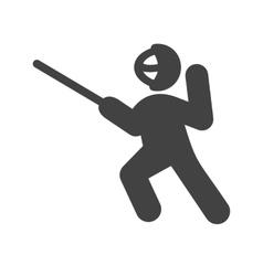 Sword fighting vector