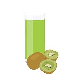 Kiwi juice vector