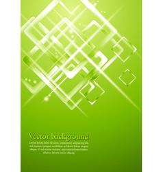 Light green geometrical design vector