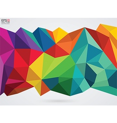 A color on whit background vector