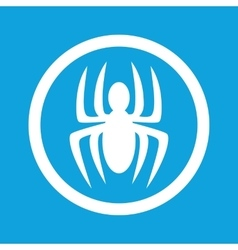 Spider sign icon vector