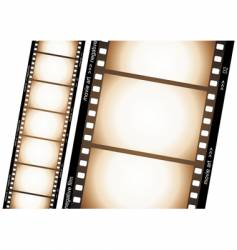 Old film strip vector