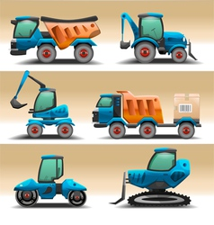 Road equipment vector