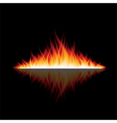 Object fire reflection vector
