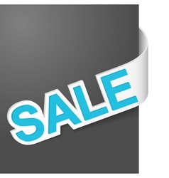 Right side sign sale vector