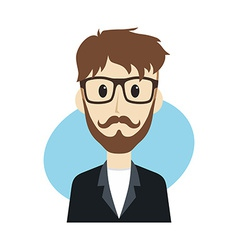 Man cartoon character vector