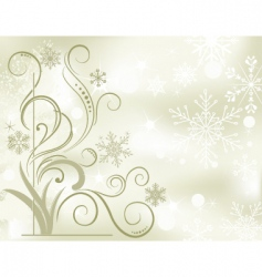 Winter soft background vector
