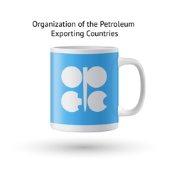 Organization of the petroleum exporting countries vector
